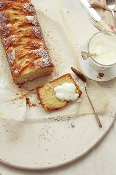 ... apple cake ...