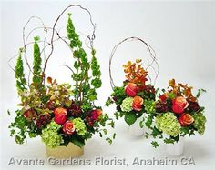 Flowers for Organic Food Manufacturer's Trade Booth