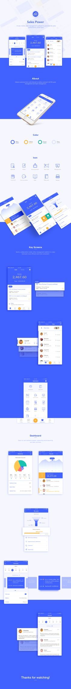 Sales Power App on Behance