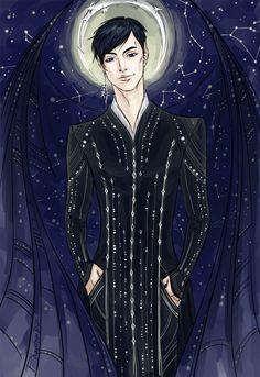 Seriously STUNNING illustration of Rhys by PhantomRin on tumblr!