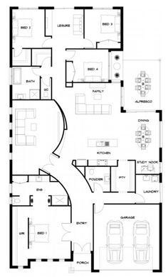 Floor plan - KingBuilt