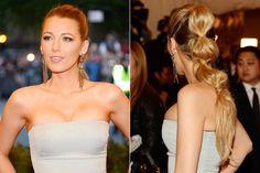 Summer Hair Styles: Rippled Ponytail