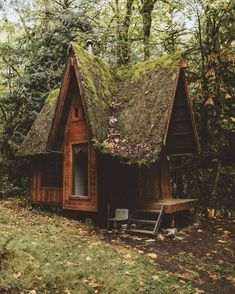 Fairy tale cabin in the woods (i.it) submitted by myshambar to /r/CozyPlaces 0 comments original - Architecture and Home Decor - Buildings - Bedrooms - Bathrooms - Kitchen And Living Room Interior Design Decorating Ideas - Witch Cottage, Cottage In The Woods, Witch House, Cabins In The Woods, Garden In The Woods, Tiny Cabins, Cabins And Cottages, Wooden Cabins, Future House
