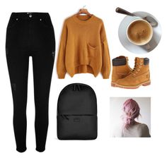 """""""Just got outta bed"""" by nonameavailable on Polyvore featuring River Island, Timberland and Rains"""
