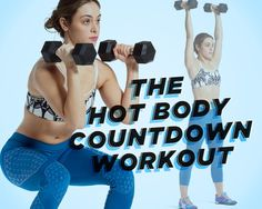 15 Minute Workout:  Build a Hotter Bod in 3...2...1