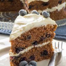 Vegan Blueberry Cake