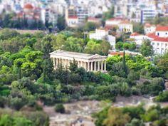 Temple of Hephaestus, Ancient Agora, Thisio, Athens