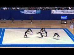 【踊ってみた】鹿児島実業高校 2014 インターハイ 進撃の巨人 など - YouTube