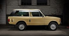 1982 Land Rover Range Rover - 2-door  Maintenance/restoration of old/vintage vehicles: the material for new cogs/casters/gears/pads could be cast polyamide which I (Cast polyamide) can produce. My contact: tatjana.alic@windowslive.com