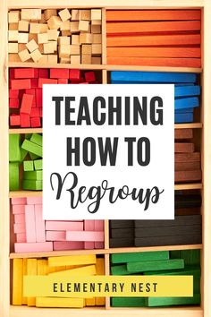 Learn more about teaching regrouping strategies in this grade math unit. There are anchor charts, activities, and other strategies to help students learn how to fluently add and subtract using regrouping strategies based on place value and operations. Teaching Place Values, Teaching Time, Teaching Math, Teaching Ideas, Teaching Subtraction, Subtraction Activities, Place Value Activities, 2nd Grade Activities, First Grade Reading Comprehension