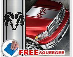 REAR Bed Stripes Vinyl Graphic RACING BANDS Decal Sticker Kit For - Truck bed decals custombody graphicsdodge ram