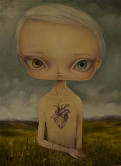 The Boy with a heart by Paulina Gora