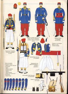 Army Costume, Old Warrior, French Foreign Legion, French Colonial, Army Uniform, French Empire, French Army, Second Empire, World War One