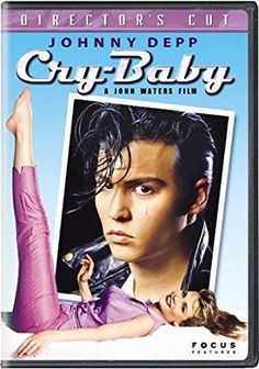 Johnny Depp & Amy Locane & John Waters-Cry Baby: Director's Cut