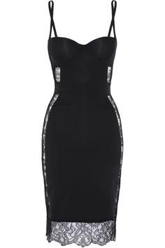 La Perla   Shape Allure lace-trimmed stretch-jersey slip   NET-A-PORTER.COM