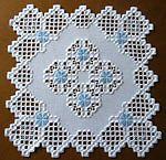 Hermoso Hardanger Bordado Mantel * Rose Buds * - Nuevo Y 100% Hecho A Mano in Artesanías, Piezas de artesanía y acabadas, Artes y artesanías con agujas | eBay