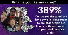 What is your karma score?