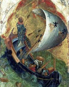 Saint Nicholas will help. Religious Images, Religious Icons, Religious Art, Byzantine Icons, Byzantine Art, Christian Artwork, Russian Icons, Biblical Art, Saint Nicholas