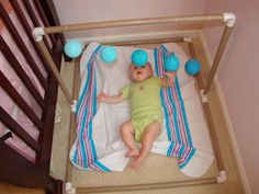 DIY: Easy, Inexpensive Gobbi Montessori Mobile from Parenting in the Moment
