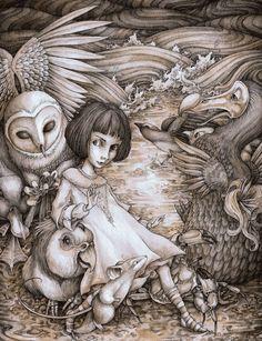 A Caucus Race (by Adam Oehlers) [Wonderland]