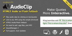This Deals AudioClip - HTML5 Audio Player (WordPress Plugin)online after you search a lot for where to buy