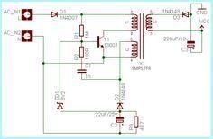 UC3843 Application Circuit Diagram | Circuits in 2019 ...