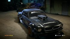 """Need for Speed™, náhled do mé garáže. final look """"Ford Mustang (1965)"""" 1237hp beast."""