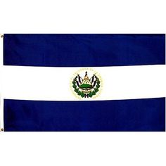 El Salvador Flag Polyester 3 ft. x 5 ft. by Flags Unlimited. $4.99. Durable Polyester Material. Made To United Nations Specs. 3 x 5 ft Polyester flag with 2 brass grommets.  These polyester flags not recommended for prolonged outdoor use. For outdoor use, we recommend our nylon flags. This flag is double sided.  Don't be ripped off by cheap, low quality poorly printed flags sold for low prices.  You get what you pay for.. Save 75%!
