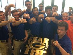 RING DAY! Handing out rings today. National Champion style!