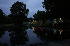 "bruce munro's ""light reservation"" at cheekwood botanical garden & museum"