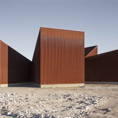 Santiago-based architects Emilio Marín and Juan Carlos López collaborated on the design of the centre, which was built alongside the first wind farm to be installed in northern Chile.