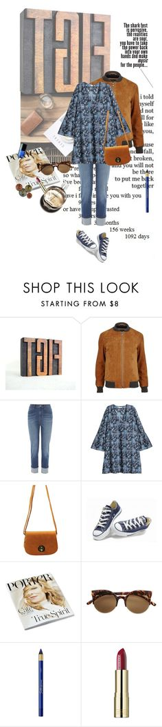 """""""Thank God It's Friday! (real outfit)"""" by lacas ❤ liked on Polyvore featuring Karen Millen, H&M, Converse, L'Oréal Paris, Hermès and Chanel"""