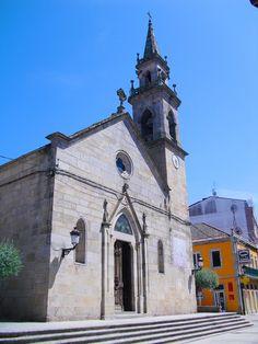 Iglesia Santa María. Porriño. Galicia. España.