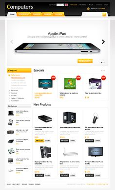 37 Best Computer Store osCommerce Themes images in 2016 | Business