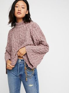 Snow Bird Pullover from Free People!