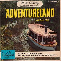Walt Disney Takes You To Adventureland Record