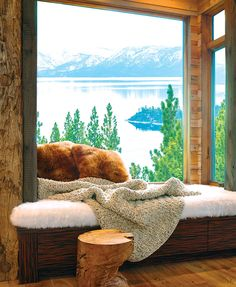 Scandinavia meets the Sierra Nevada in a modern mountain home that gets a fresh, open look.