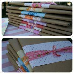cute gift wrap idea