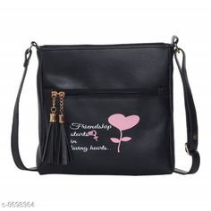 Checkout this latest Slingbags Product Name: *Latest Trend Party Wear Handbag Slingbag* Material: Leather No. of Compartments: 2 Pattern: Printed Multipack: 1 Sizes:Free Size (Length Size: 25 in, Width Size: 2 in, Height Size: 25 in)  Easy Returns Available In Case Of Any Issue   Catalog Rating: ★3.9 (339)  Catalog Name: Ravishing Fancy Women Slingbags CatalogID_1481913 C73-SC1075 Code: 082-8698364-426