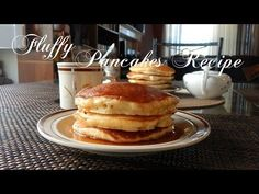 (6) Fluffy Pancakes Recipe | The Sweetest Journey - YouTube