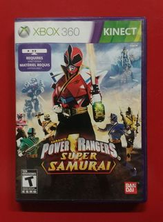 Xbox 360 Power Rangers *CIB Power Rangers Videos, Xbox Games, Xbox 360, Samurai, Video Games, This Or That Questions, Products, Videogames, Video Game