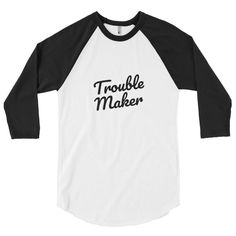 A stylish spin on the classic baseball raglan. The combed cotton blend makes it super soft, comfortable, and lightweight. Raglan Shirts, Crown, Tees, Sleeves, Mens Tops, Cotton, Fashion, Moda, Corona