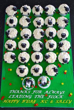Celebrate with Cake!: Sheep Cupcakes