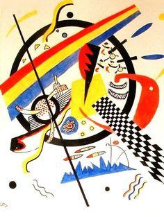 Composición de Kandinsky Abstract Shapes, Geometric Art, Abstract Pattern, Abstract Art, Kandinsky Art, Wassily Kandinsky Paintings, Funky Art, Learn Art, Post Impressionism
