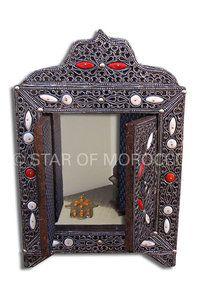 Tribal Moroccan Mirror