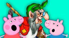 Свинка ПЕППА и Баба ЯГА на ПЕННОЙ ВЕЧЕРИНКЕ Джордж боится МОНСТРОВ в лес...