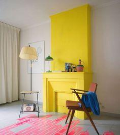 Модные способы покраски стен