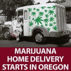 """Oregon is rolling out another first in the recreational marijuana industry: Customers may now order pot from licensed retailers and have it delivered to their homes.  The Oregon Liquor Control Commission had granted delivery permits to 117 retailers across Oregon, including 13 in Portland, last year but postponed their permission until last month. """"We needed to make an adaptation to the cannabis tracking system to provide a document that would actually allow for the delivery of recreational…"""