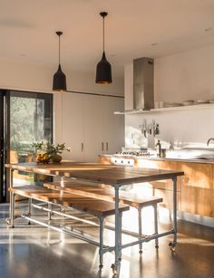This small secondary dwelling on a Hawke's Bay lifestyle block was designed to accommodate extended family but has found new purpose as an Airbnb Little Cottages, Olive Tree, House Floor Plans, Cool Kitchens, Home And Living, House Tours, Home And Garden, House Design, Kitchen Designs