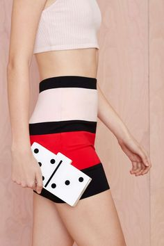 This clutch is so cool!  Roll the Dice Clutch   Shop Accessories at Nasty Gal
